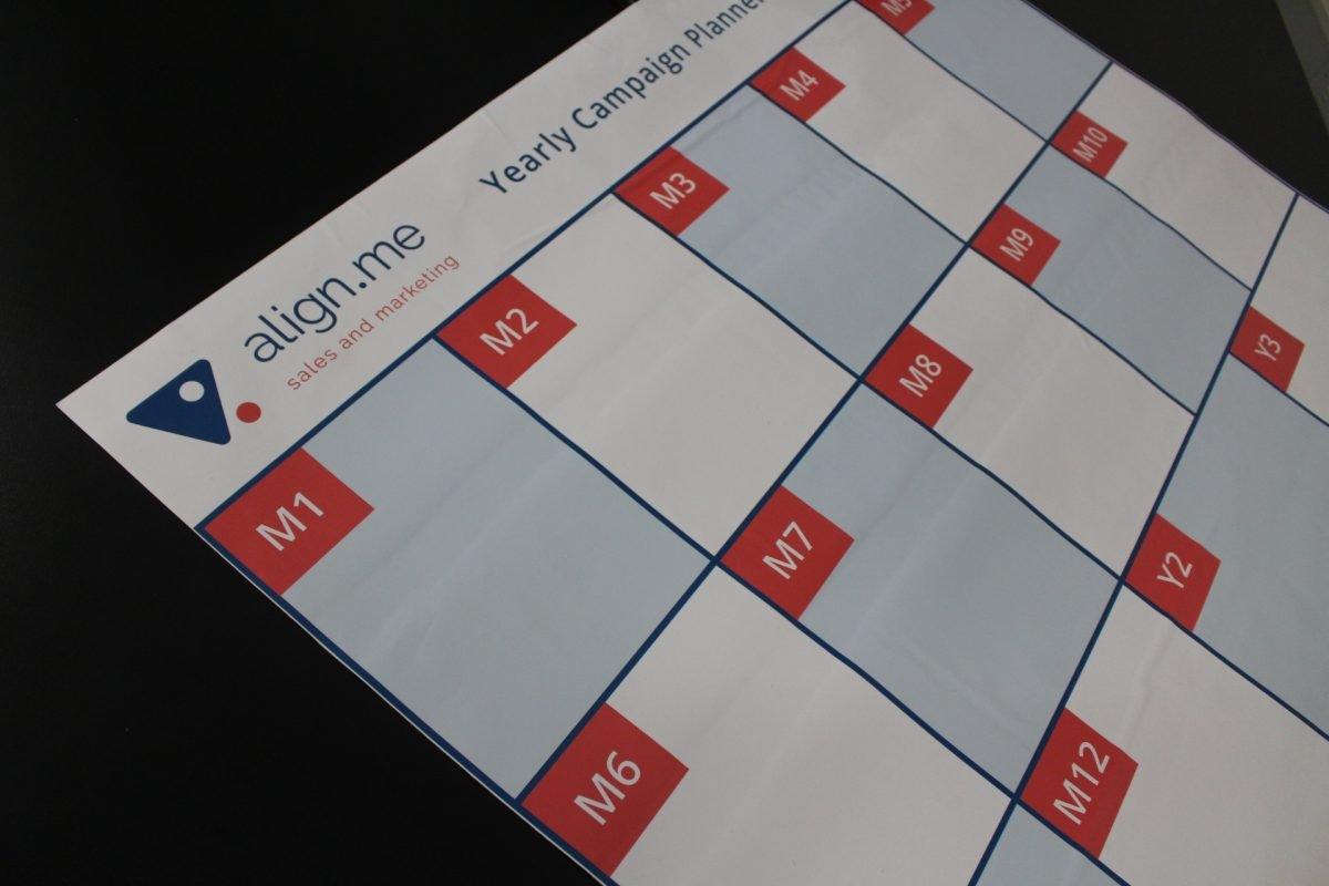 Custom design to suit your business   Repositionable Whiteboard Wall Planner