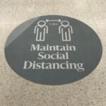 social distancing signs victoria, covid safe signs