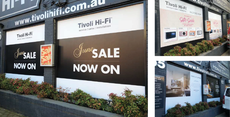 Outdoor Signage, commerical Printing Melbourne